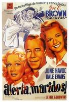 Casanova in Burlesque - Spanish Movie Poster (xs thumbnail)