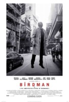 Birdman or (The Unexpected Virtue of Ignorance) - British Movie Poster (xs thumbnail)