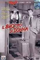 His Kind of Woman - Italian DVD cover (xs thumbnail)