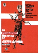 The True Story of Jesse James - Spanish Movie Poster (xs thumbnail)