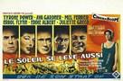 The Sun Also Rises - Belgian Movie Poster (xs thumbnail)
