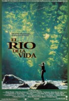 A River Runs Through It - Spanish Movie Poster (xs thumbnail)