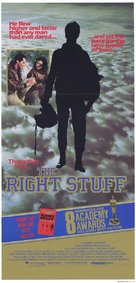 The Right Stuff - Australian Movie Poster (xs thumbnail)