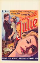 Fröken Julie - Belgian Movie Poster (xs thumbnail)