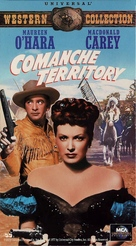 Comanche Territory - VHS movie cover (xs thumbnail)