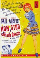 The Fuller Brush Girl - Swedish Movie Poster (xs thumbnail)