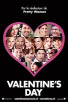 Valentine's Day - Swiss Movie Poster (xs thumbnail)