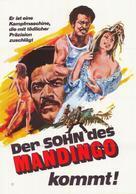 Mandingo - German Movie Poster (xs thumbnail)