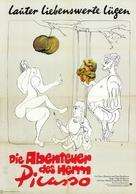 Picassos äventyr - German Movie Poster (xs thumbnail)