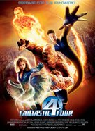 Fantastic Four - Danish Movie Poster (xs thumbnail)