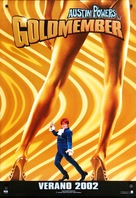 Austin Powers in Goldmember - Spanish Movie Poster (xs thumbnail)