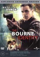 The Bourne Identity - Australian DVD movie cover (xs thumbnail)