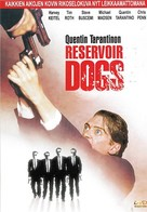 Reservoir Dogs - Finnish Movie Cover (xs thumbnail)