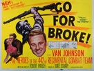 Go for Broke! - Movie Poster (xs thumbnail)