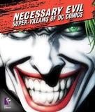 Necessary Evil: Villains of DC Comics - Blu-Ray movie cover (xs thumbnail)