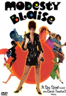 Modesty Blaise - DVD cover (xs thumbnail)