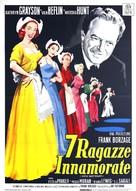 Seven Sweethearts - Italian Movie Poster (xs thumbnail)