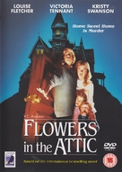 Flowers in the Attic - British DVD cover (xs thumbnail)