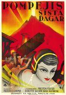 The Last Days of Pompeii - Swedish Movie Poster (xs thumbnail)