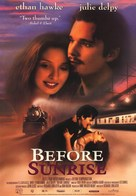 Before Sunrise - Movie Poster (xs thumbnail)