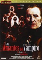 The Vampire Lovers - Spanish DVD cover (xs thumbnail)