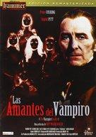 The Vampire Lovers - Spanish DVD movie cover (xs thumbnail)