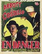 Abbott and Costello Meet the Killer, Boris Karloff - Belgian Movie Poster (xs thumbnail)
