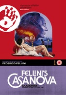 Il Casanova di Federico Fellini - British DVD movie cover (xs thumbnail)