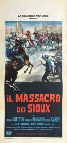 The Great Sioux Massacre - Italian Movie Poster (xs thumbnail)