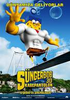 The SpongeBob Movie: Sponge Out of Water - Turkish Movie Poster (xs thumbnail)
