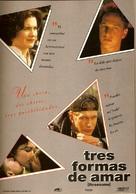 Threesome - Spanish DVD movie cover (xs thumbnail)