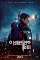 The Kid Who Would Be King - Brazilian Movie Poster (xs thumbnail)