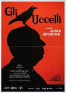 The Birds - Italian Movie Poster (xs thumbnail)