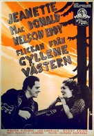 The Girl of the Golden West - Swedish Movie Poster (xs thumbnail)
