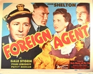 Foreign Agent - Movie Poster (xs thumbnail)