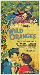 Wild Oranges - Movie Poster (xs thumbnail)