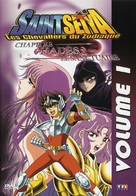 """""""Saint Seiya: The Hades Chapter - Sanctuary"""" - French DVD movie cover (xs thumbnail)"""