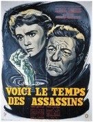 Voici le temps des assassins... - French Movie Poster (xs thumbnail)