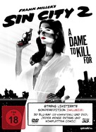 Sin City: A Dame to Kill For - German Blu-Ray cover (xs thumbnail)