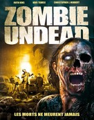 Zombie Undead - French DVD cover (xs thumbnail)