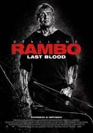 Rambo: Last Blood - Swedish Movie Poster (xs thumbnail)