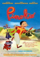 Pinocchio - Polish Movie Poster (xs thumbnail)