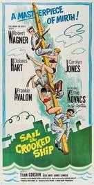 Sail a Crooked Ship - Movie Poster (xs thumbnail)