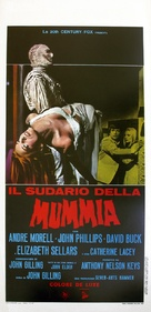 The Mummy's Shroud - Italian Movie Poster (xs thumbnail)