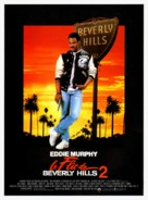 Beverly Hills Cop 2 - French Movie Poster (xs thumbnail)