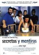 Secrets & Lies - Spanish Movie Poster (xs thumbnail)