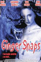 Ginger Snaps - French DVD movie cover (xs thumbnail)
