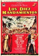 The Ten Commandments - Spanish Movie Poster (xs thumbnail)