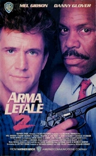 Lethal Weapon 2 - Italian VHS movie cover (xs thumbnail)