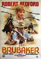 Brubaker - Turkish Movie Poster (xs thumbnail)